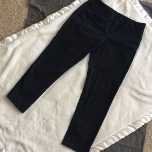 The Limited petite black skinny crop dress pants